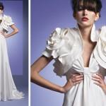 Vestido de noiva romântico valorizando os ombros e busto (Foto: fivulgação)