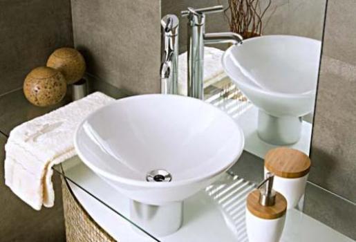 Modelos de pias para banheiros dicas, fotos  MundodasTribos – Todas as trib -> Pia De Banheiro Diferente