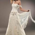 Vestido de noiva estilo hippie moderno (Foto: divulgação)