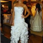 Charme e elegância nos babados do vestido (Foto: divulgação)