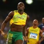 Nos Jogos Olímpicos de Pequim, em 2008, o jamaicano Usain Bolt ganhou 3 medalhas de ouro e mostrou toda a sua velocidade, quebrando vários recordes.(Foto: Divulgação)