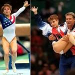 A ginasta americana Kerri Strug comoveu o mundo ao se apresentar com o tornozelo lesionado, nas Olimpíadas de Atlanta – 1996, ajudando sua equipe a ganhar o ouro.(Foto: Divulgação)