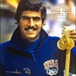 O nadador norte-americano Mark Spitz é um dos maiores ganhadores de medalhas olímpicas. Só em Munique, 1972, foram 7 medalhas de ouro.(Foto: Divulgação)