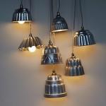 Luminárias com forminhas de pudim (Foto: divulgação)