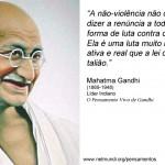 A não-violência não quer dizer...(Foto: divulgação)
