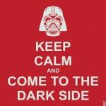 Fique calmo e venha para o lado negro. (Foto: divulgação)