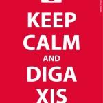 Keep calm and diga xis. (Foto: divulgação)