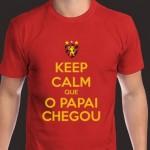 Keep calm que o papai chegou. (Foto: divulgação)
