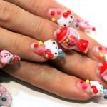 Hello Kitty inspirou as unhas japonesas. (Foto:Divulgação)