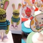 Festa de aniversário com tema Toy Art. (Foto:Divulgação)