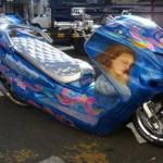 Há motos tunadas de vários estilos (Foto: Divulgação)