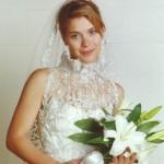 Vestido de noiva de Camila em Laços de Família. (Foto:Divulgação)