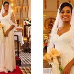 Vestido de Noiva de Lídia em Morde e Assopra. (Foto:Divulgação)