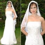 Vestidos de noiva de Raissa em América. (Foto:Divulgação)