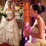 Vestido de noiva de Suelen em Avenida Brasil. (Foto:Divulgação)