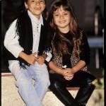 Sandy e Júnior já se apresentavam desde pequenos (Foto: Divulgação)