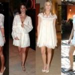 São diversos os modelos existentes de vestidos de festas de renda. (Foto: divulgação)