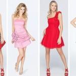Dependendo do modelo, o vestido curto valoriza a silhueta feminina. (Foto:Divulgação)