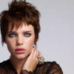 Bruna Linzmeyer ficou moderna e charmosa com o seu corte de cabelo. (Foto:Divulgação)