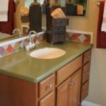 Gabinete de madeira para banheiro. (Foto:Divulgação)
