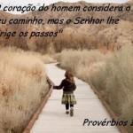 Deus conduz os passos dos seus filhos. (Foto:Divulgação)