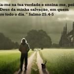 Crer em Deus ajuda a seguir o melhor caminho. (Foto:Divulgação)