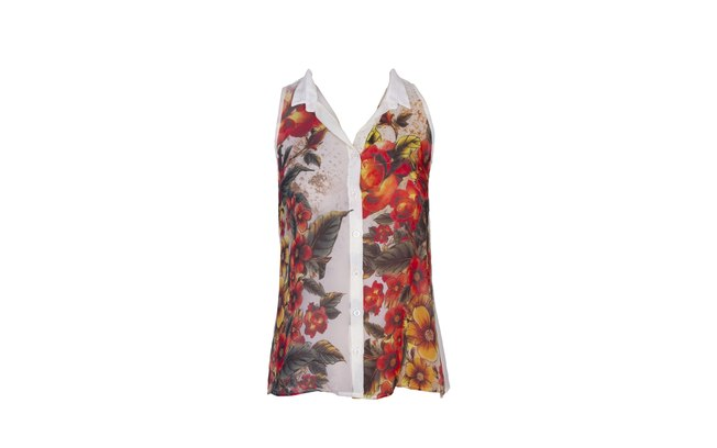 Blusa florida por R$ 49,90 (Foto: divulgação)
