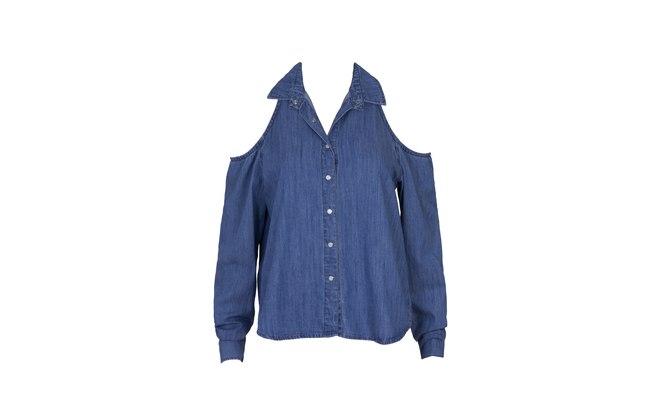 Camisa em jeans por R$ 69,90 (Foto: divulgação)