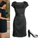Mesmo comportado, o vestido pode deixar a mulher bonita e elegante. (Foto:Divulgação)