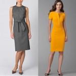 O vestido para usar no trabalho não pode ser tão curto. (Foto:Divulgação)