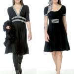 Os vestidos com cores neutras são mais usados no ambiente profissional. (Foto:Divulgação)