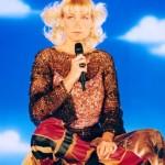 Um visual totalmente diferente em um dos seus DVDs, Xuxa só para baixinhos. (Foto: divulgação)