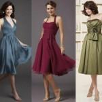 Para ser usado pela madrinha, o vestido curto deve ser interessante. (Foto:Divulgação)