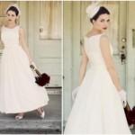 O vestido vintage resgata a magia do casamento da vovó. (Foto:Divulgação)