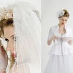 Os acessórios completam o look da noiva vintage.(Foto:Divulgação)