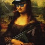 Monalisa mafiosa (Foto: Divulgação)