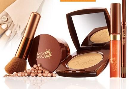 Nova linha de maquiagem Avon Glow