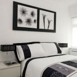 O preto aparece como detalhe da roupa de cama e dos acessórios. (Foto:Divulgação)