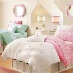 Quando se trata de quarto feminino, o clássico é usar cores doces e suaves. (Foto:Divulgação)