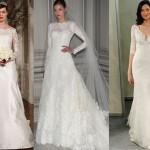 As transparências são as tendências da moda para vestidos de noiva (Foto: divulgação).