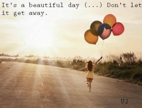 Música Beautiful Day, do U2.  (Foto:Divulgação)