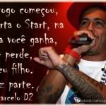 Trecho de uma música de Marcelo D2. (Foto:Divulgação)