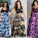 Os vestidos estampados dão muito beleza e sofisticação ao visual de verão (Foto: divulgação).
