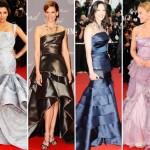 Os vestidos sereia plissados também estão na moda (Foto: divulgação).