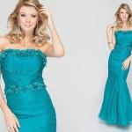 Várias cores podem ser usadas nos vestidos sereia (Foto: divulgação).