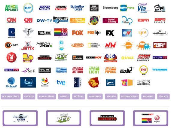 via embratel tv