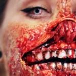 Maquiagem realista de zumbi. (Foto: Divulgação)