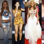 No começo da carreira Beyoncé usava roupas feitas pela mãe (Foto: Divulgação)