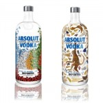 O design criativo das garrafas de Absolut. (Foto:Divulgação)