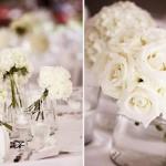 Decoração clean e romântica para a mesa de casamento. (Foto:Divulgação)